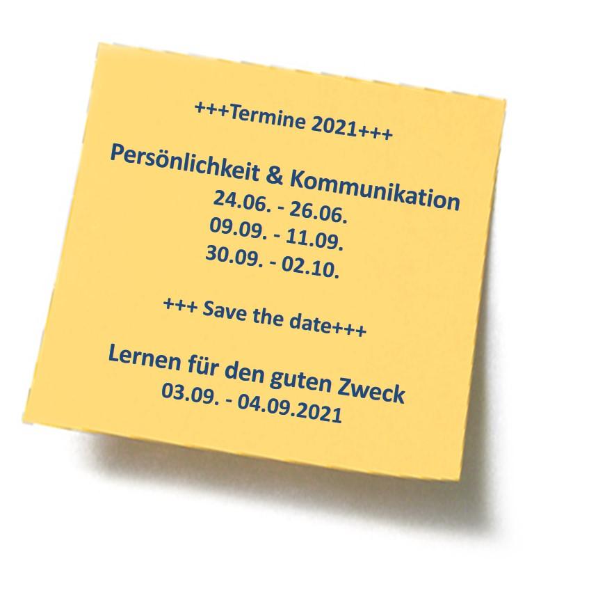 K&T Kaufhold & Team GmbH, Seminare & Trainings 2021