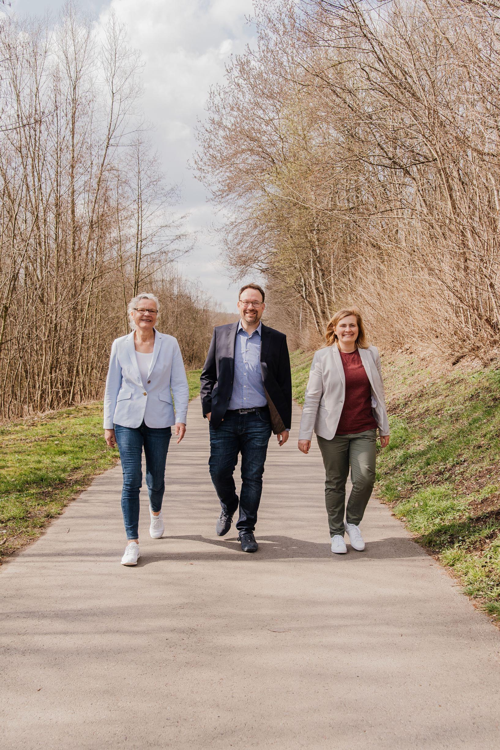 Silvia Kaufhold, Maximilian Burchardt, Anna Frieler