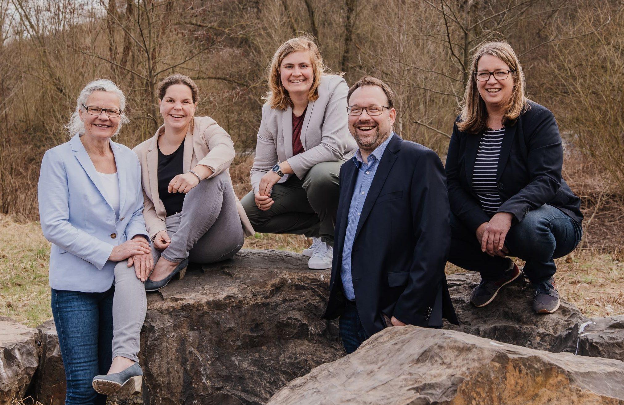 Silvia Kaufhold, Katharina Kaufhold, Anna Frieler, Maximilian Burchardt, Anja Burchardt